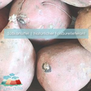 2013 Süßkartoffel Folsäurelieferant während der Schwangerschaft