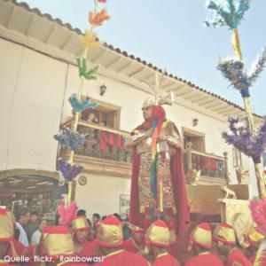 2013 Inti Raymi Sonnenfest in Peru