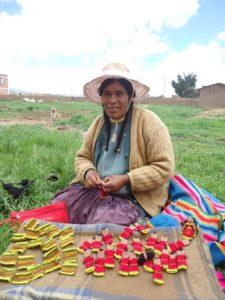 Unsere Strickerinnen aus Peru Puno Fair Trade