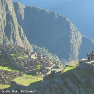 2013 Machu Picchu Weltwunder in Peru