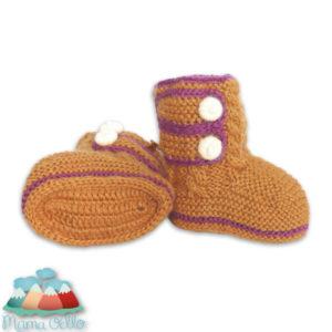 2013 Produktentwicklung bei Mama Ocllo Beispiel Baby Boots