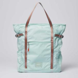 Nachhaltige Taschen - Blaue Tasche von Fair Couture