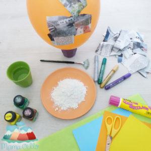 Pinata selber machen zum Kindergeburtstag