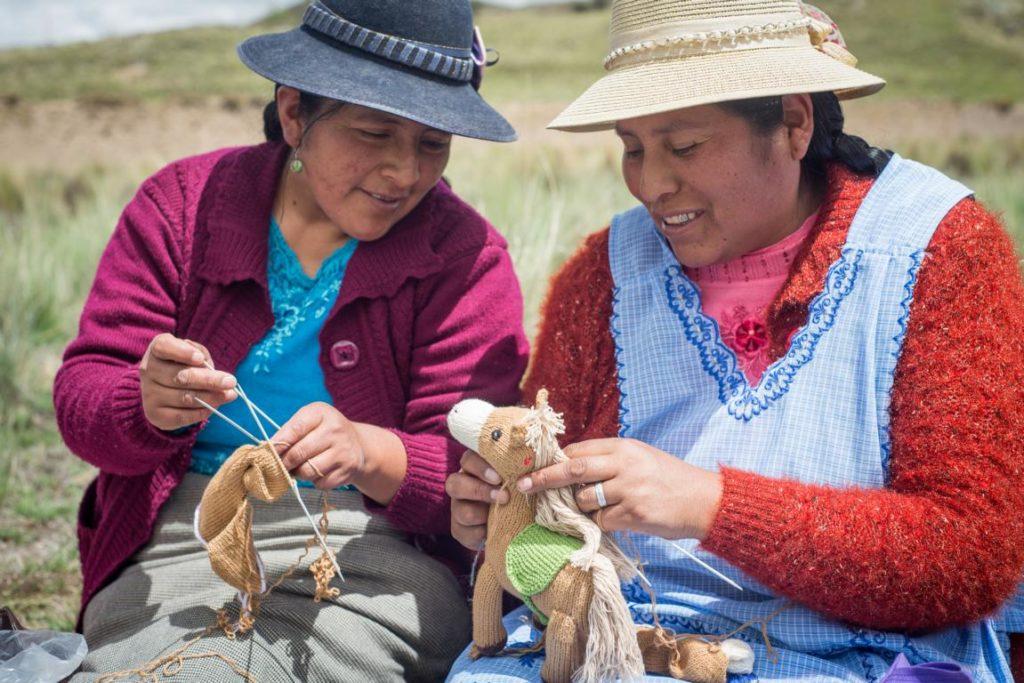 Peru Kuscheltiere Pferd und Einhorn aus Bio-Baumwolle (3)
