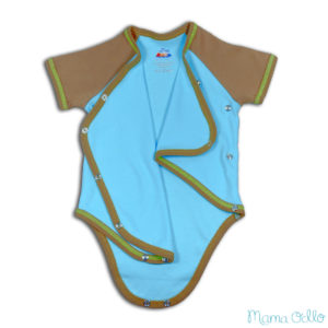 Mama Ocllo - Maritimes Outfit Sommerbaby Pima Baumwolle (5)