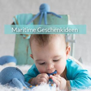 Maritime Geschenke für Nordsee-Kinder, kleine Wassernixen und Traveler Babys