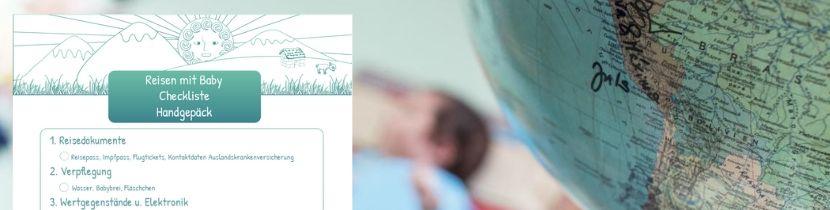 Reise mit Baby_Checkliste fürs Handgepäck_nichtnurmama.de