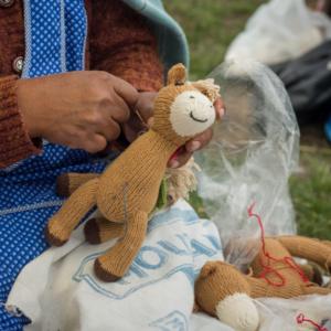 Entwicklungsarbeit in Peru_Anden_Strickwaren