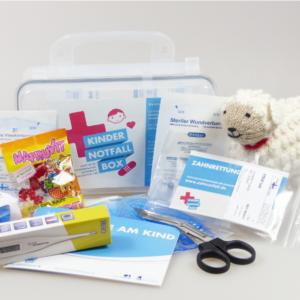 Erste Hilfe am Kind Die Kinder-Notfall-Box