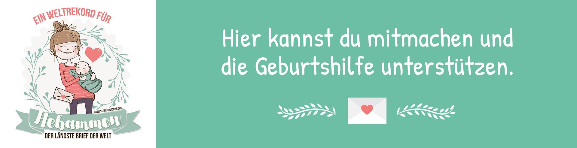 Unterstütze den Weltrekord für Hebammen deinbrieffuerhebammen Hebammen-Interview