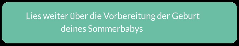 Praktische Tipps für Eltern von Sommerbabys