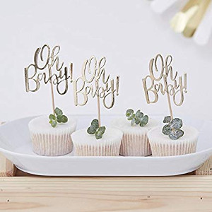 Babyshower_In 6 Schritten zur perfekten Babyparty_Cupcake Sticks Oh Baby