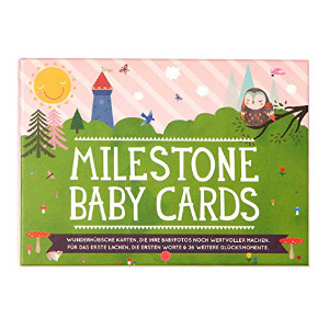 Babyshower_In 6 Schritten zur perfekten Babyparty_Geschenk Milestone Cards