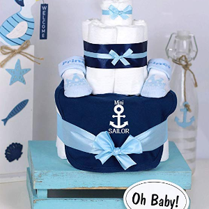 Babyshower_In 6 Schritten zur perfekten Babyparty_Maritime Windeltorte Mini Sailor.jpg