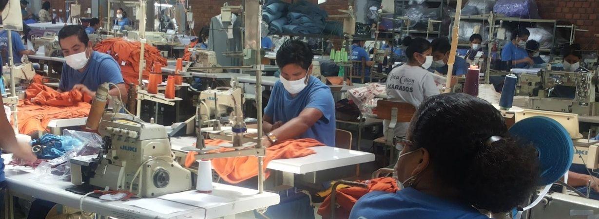 Slow Fashion - Textilfabrik in Peru