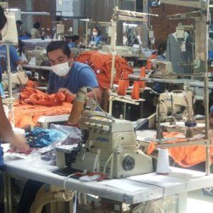 Textilfabrik in Peru