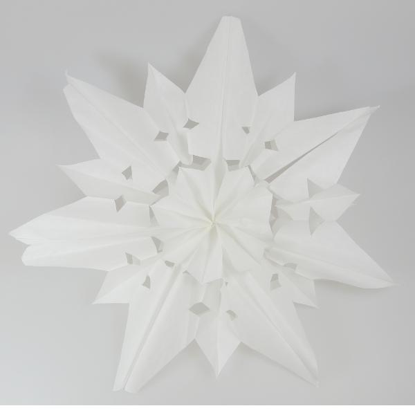 DIY Weihnachtssterne kinderleicht wunderschön (2)