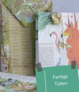 DIY Geschenktüte aus Zeitungen_nichtnurmama (2)