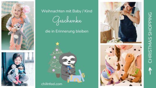 Weihnachtszauber_nachhaltige Geschenke für Babys und Kinder