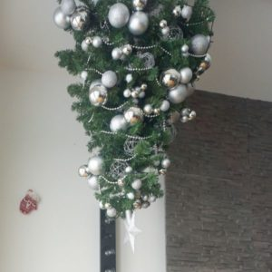 Weihnachtsbaum aufstellen oder aufhängen_nichtnurmama