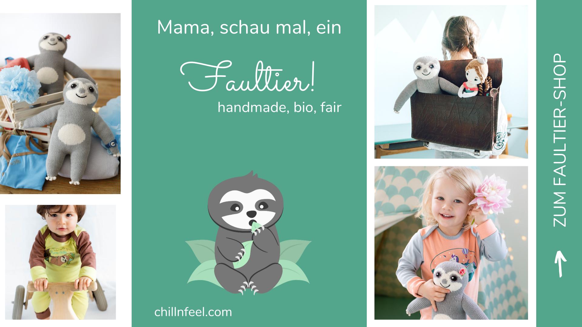 Faultier Kuscheltier_Faultier Geschenke_Chillout_Chill n Feel