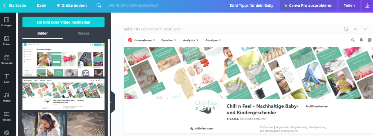 Canva_Online Shop_Pinterest_Zielgruppe
