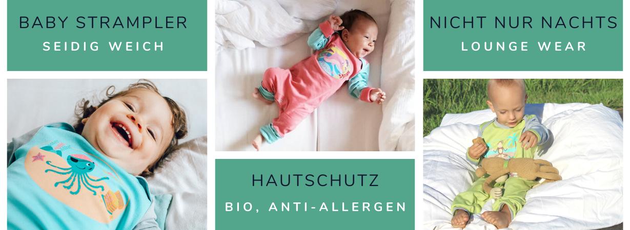 Chill n Feel - Die richtige Schlafkleidung unter den Babyschlafsack