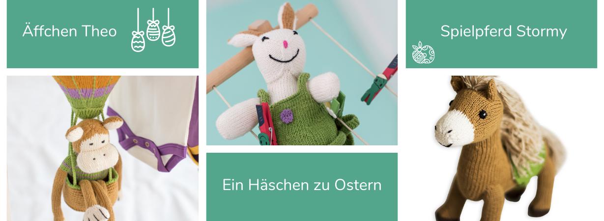 Nachhaltige Ostergeschenke für Babys und Kinder